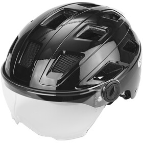 ABUS Hyban+ Bike Helmet black